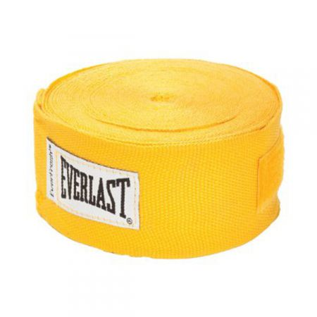 Бинты бокс Everlast Hand Wraps 4.55м. желтые